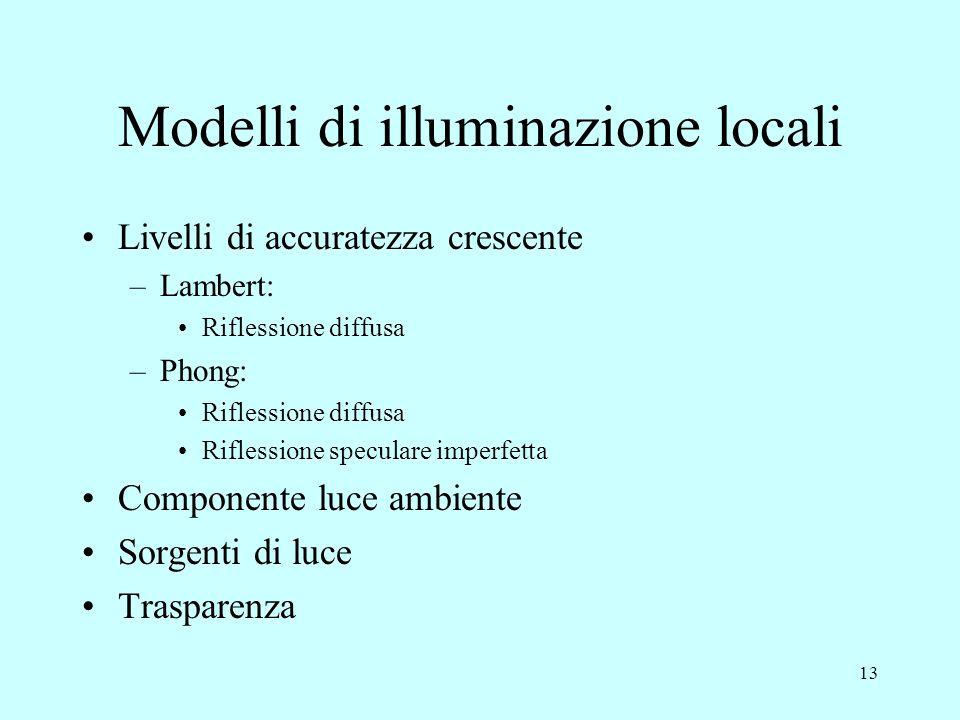 Modelli di illuminazione locali