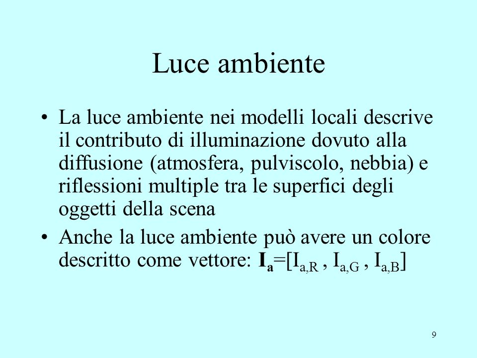 Luce ambiente