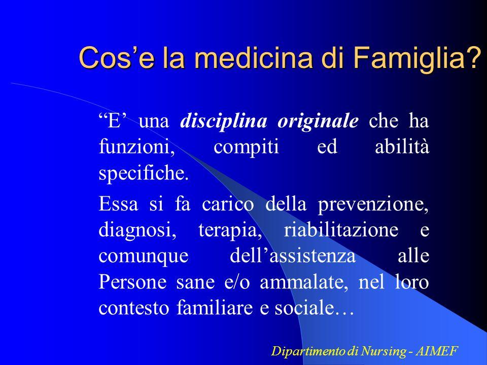 Cos'e la medicina di Famiglia