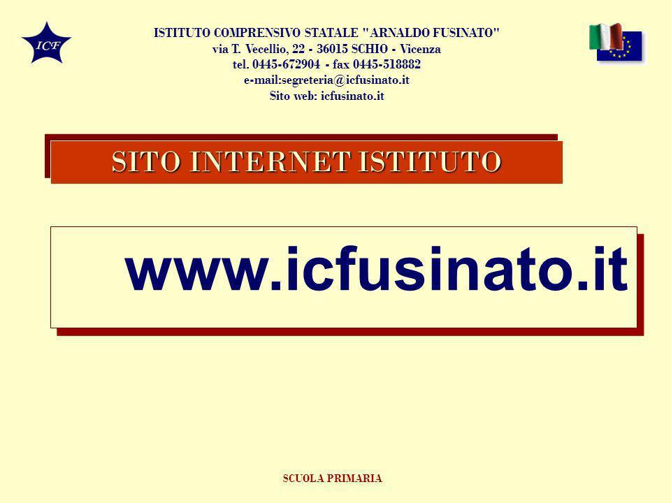 SITO INTERNET ISTITUTO