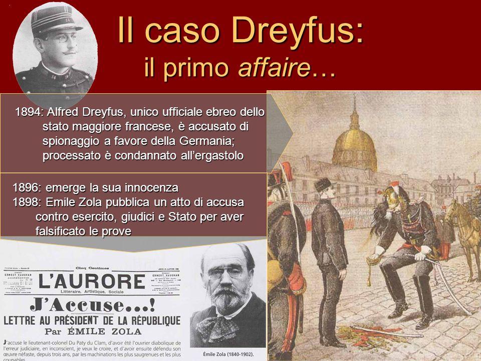Il caso Dreyfus: il primo affaire…