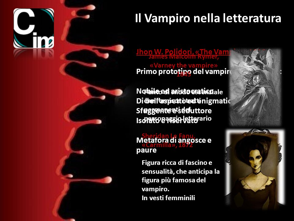 Il Vampiro nella letteratura