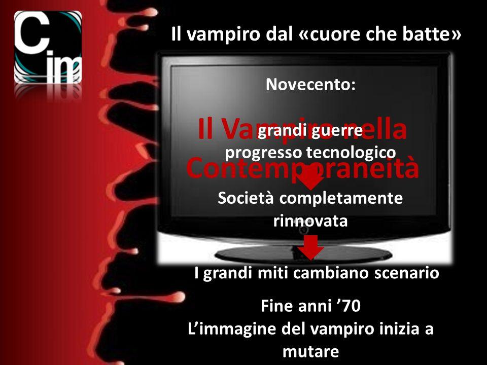 Il Vampiro nella Contemporaneità