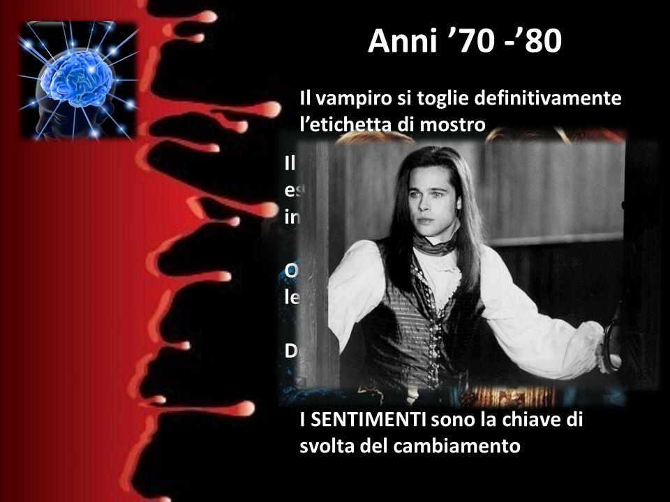 Il vampiro di Anne Rice Anni '70 -'80