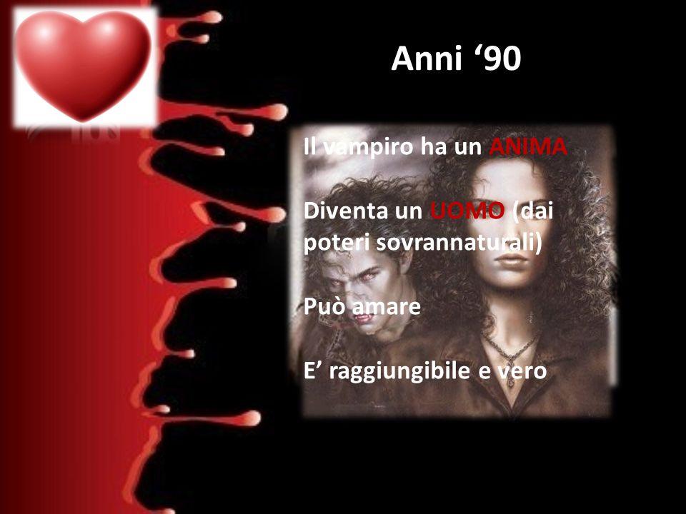 Anita Blake Il Diario del Vampiro Anni '90 Il vampiro ha un ANIMA