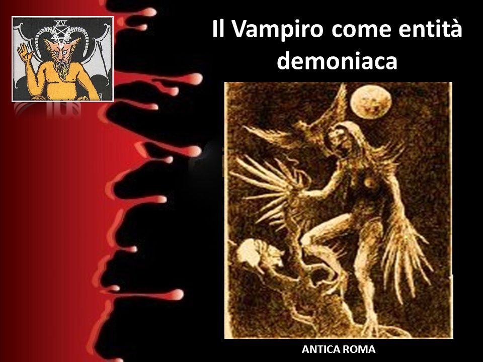 Il Vampiro come entità demoniaca