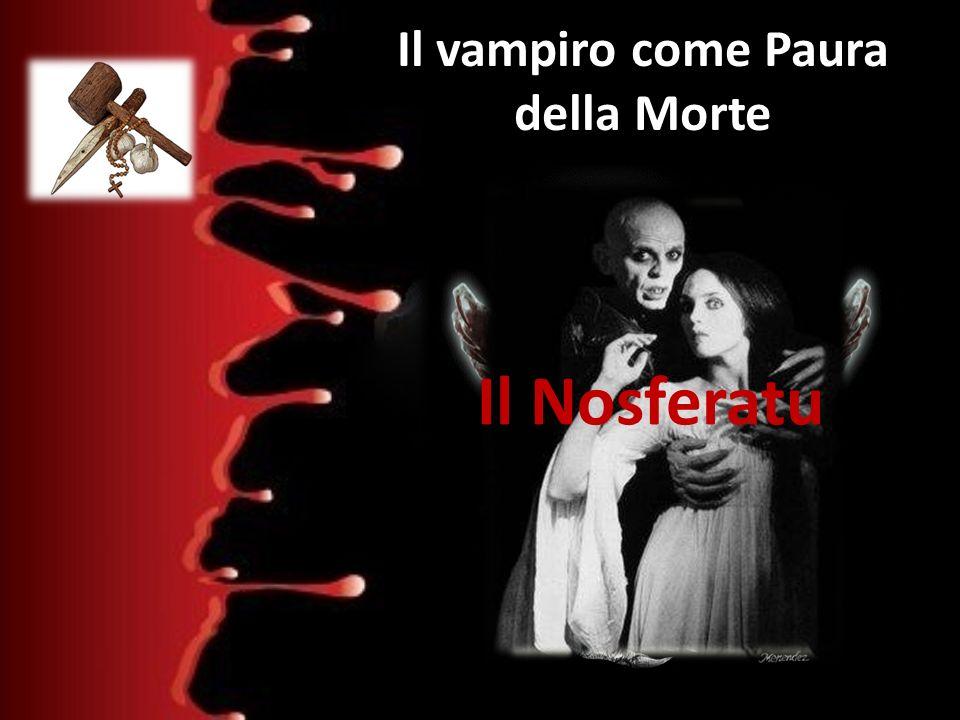 Il vampiro come Paura della Morte
