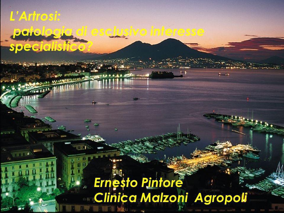 L'Artrosi: patologia di esclusivo interesse specialistico