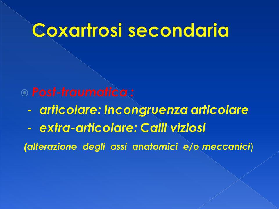Coxartrosi secondaria