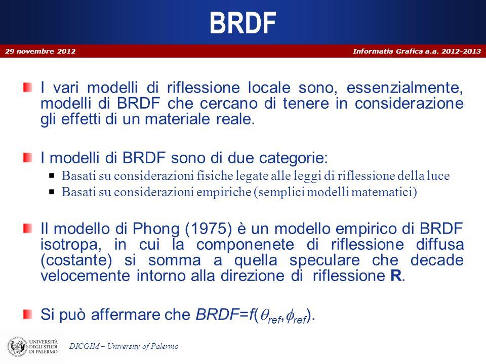 BRDF 29 novembre 2012.