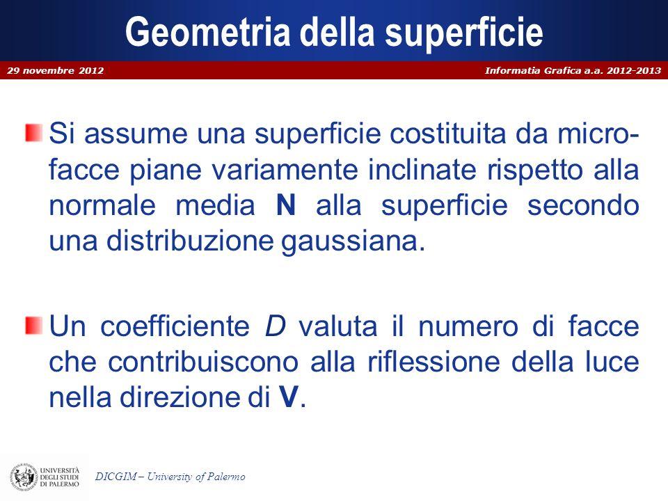 Geometria della superficie