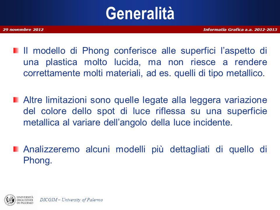 Generalità29 novembre 2012.
