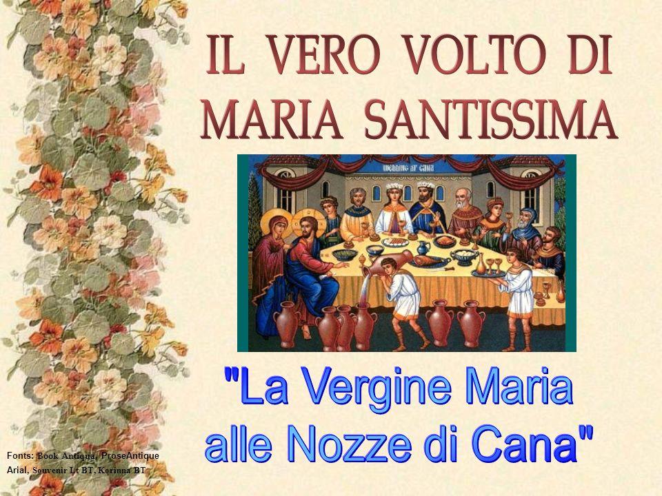 IL VERO VOLTO DI MARIA SANTISSIMA La Vergine Maria