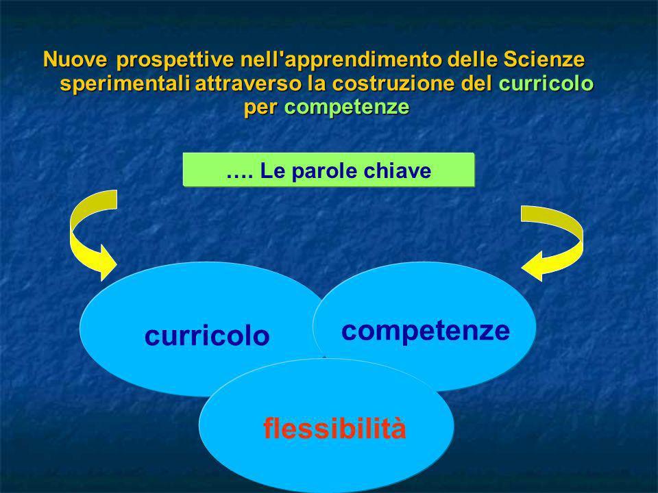 competenze curricolo flessibilità
