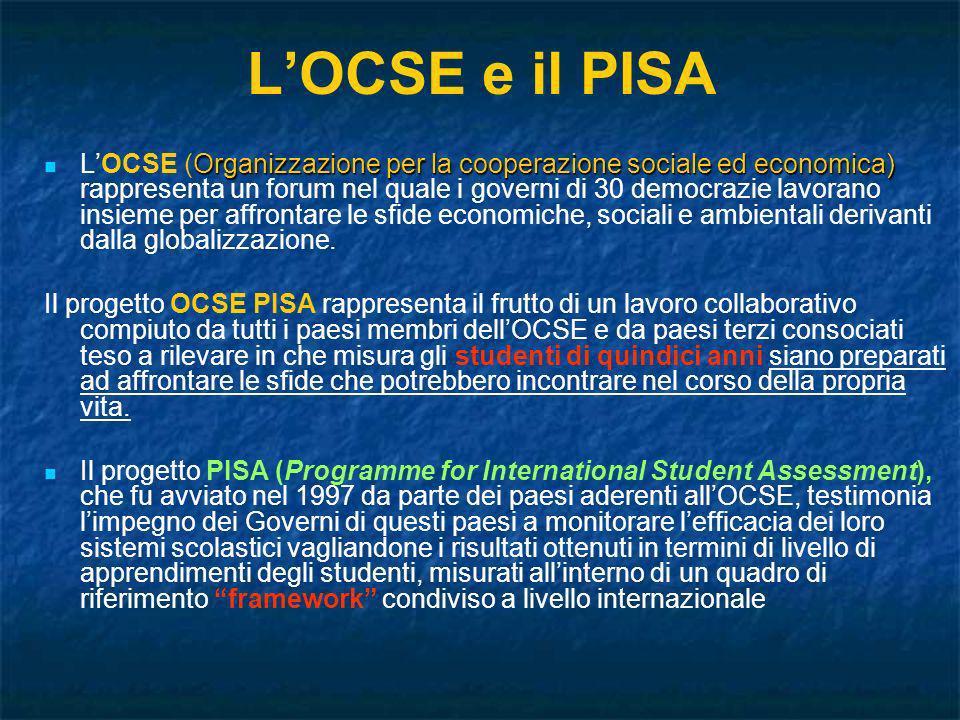L'OCSE e il PISA