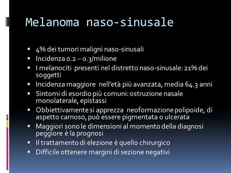 Melanoma naso-sinusale