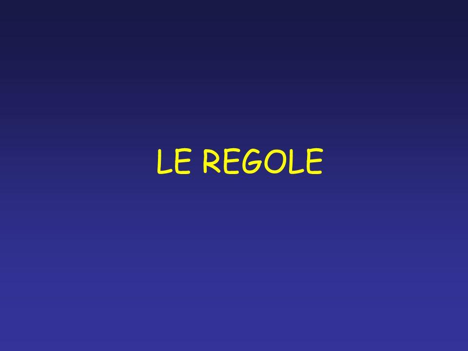 LE REGOLE