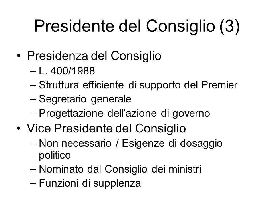 Presidente del Consiglio (3)