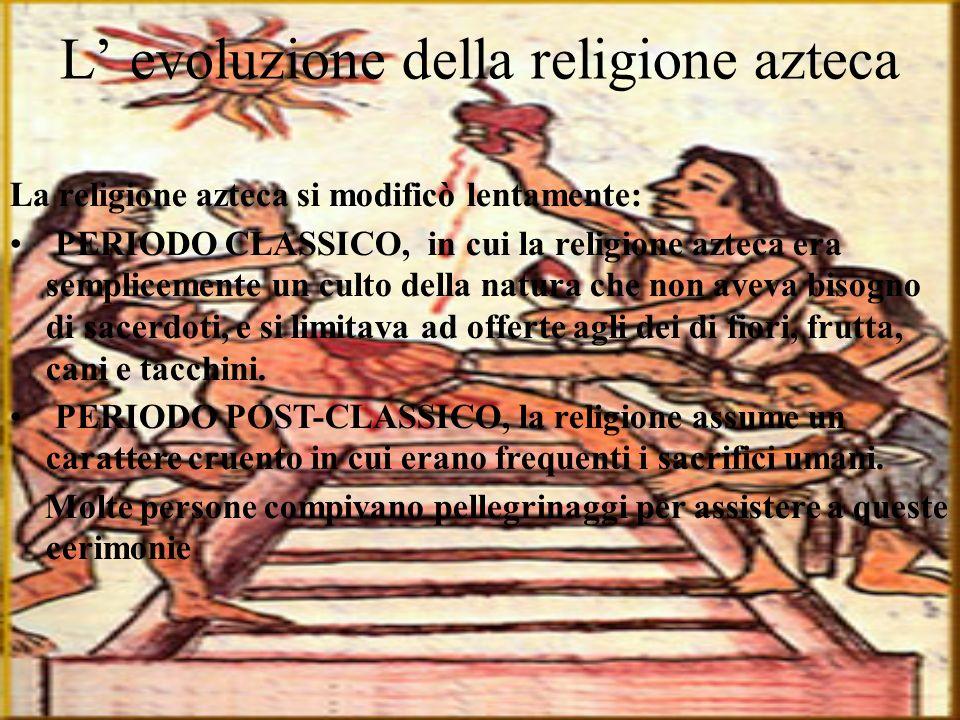 L' evoluzione della religione azteca