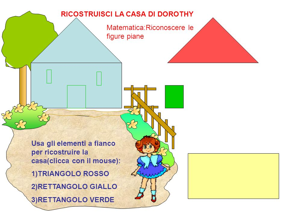 RICOSTRUISCI LA CASA DI DOROTHY