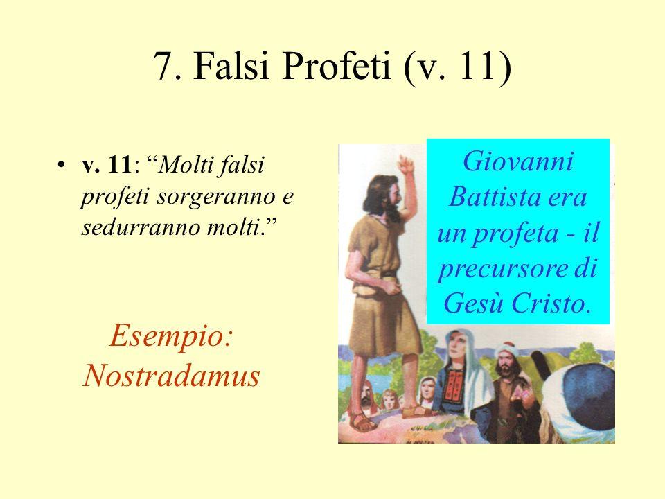 Giovanni Battista era un profeta - il precursore di Gesù Cristo.