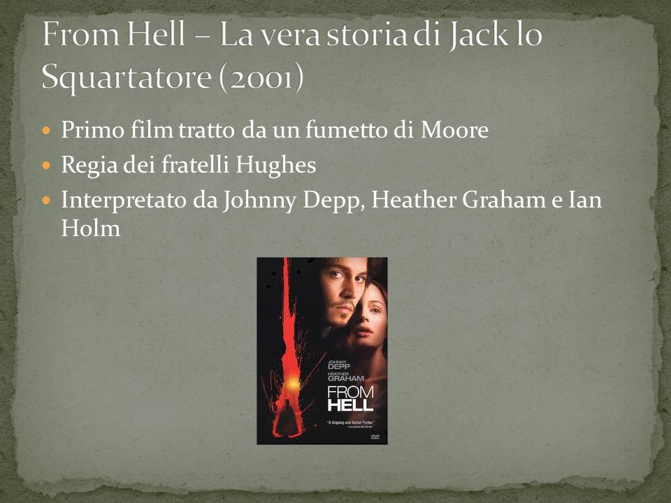 From Hell – La vera storia di Jack lo Squartatore (2001)