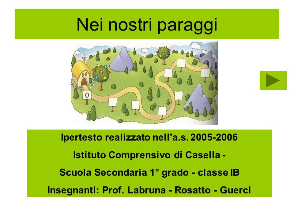 Insegnanti: Prof. Labruna - Rosatto - Guerci
