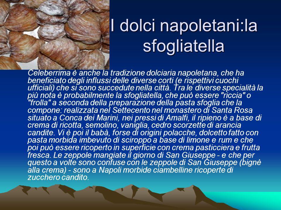 I dolci napoletani:la sfogliatella