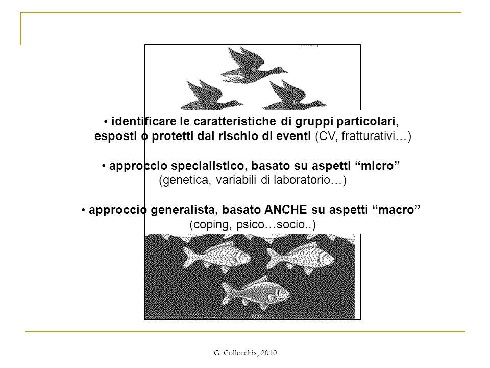 identificare le caratteristiche di gruppi particolari,