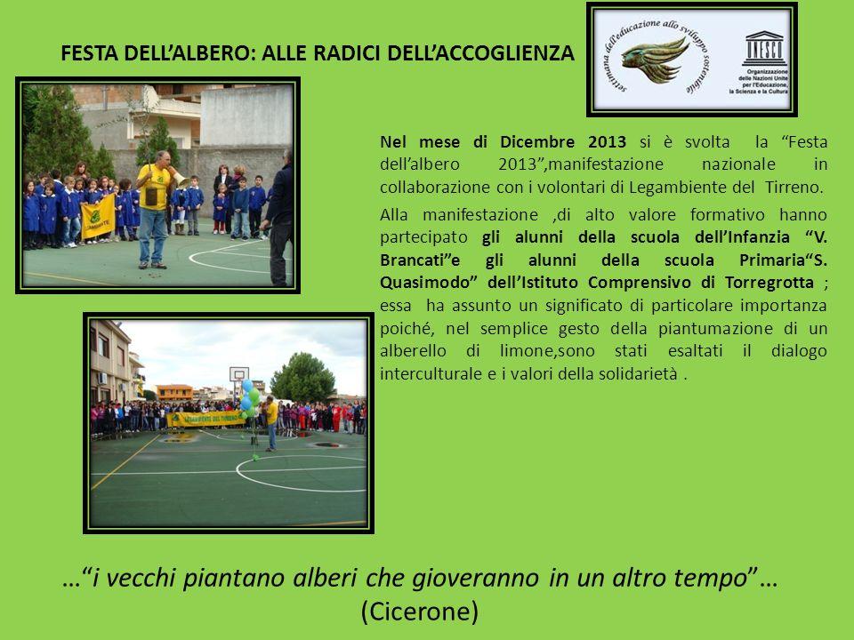 FESTA DELL'ALBERO: ALLE RADICI DELL'ACCOGLIENZA