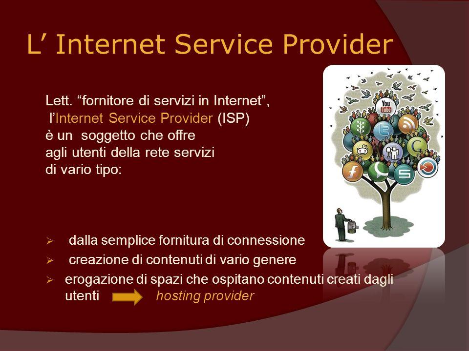 L' Internet Service Provider