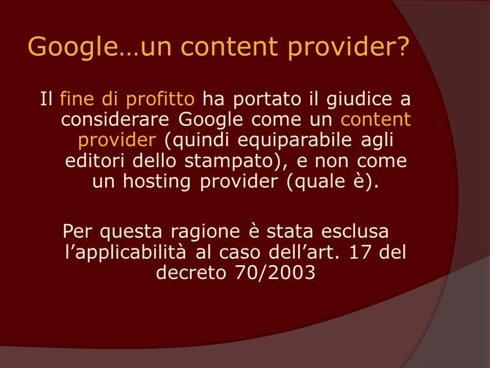 Google…un content provider