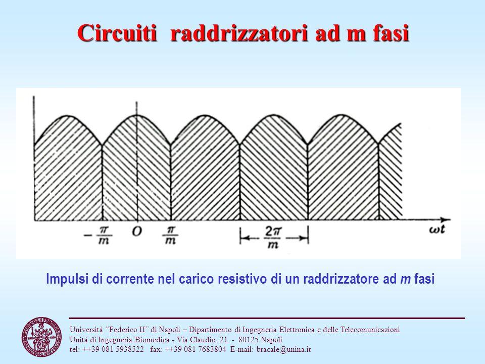 Circuiti raddrizzatori ad m fasi