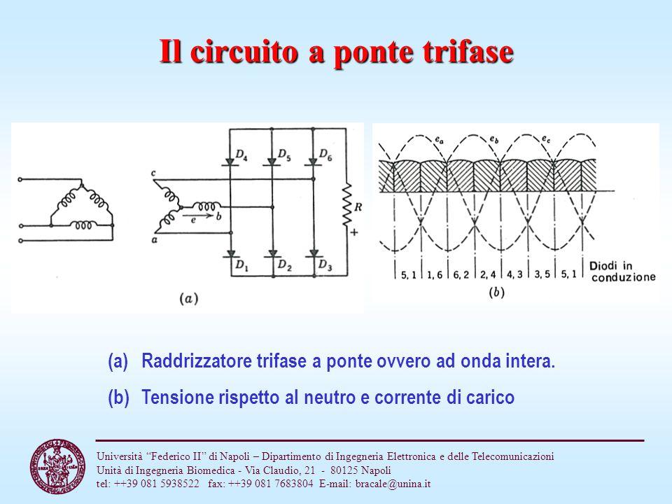 Il circuito a ponte trifase