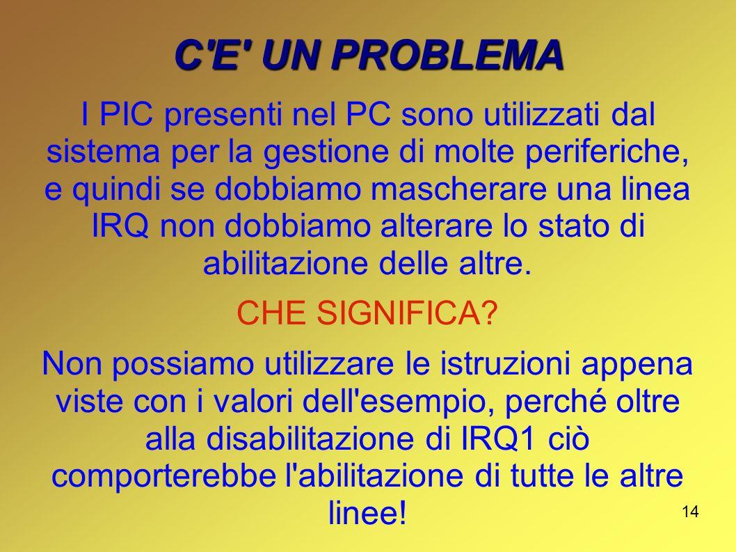 C E UN PROBLEMA