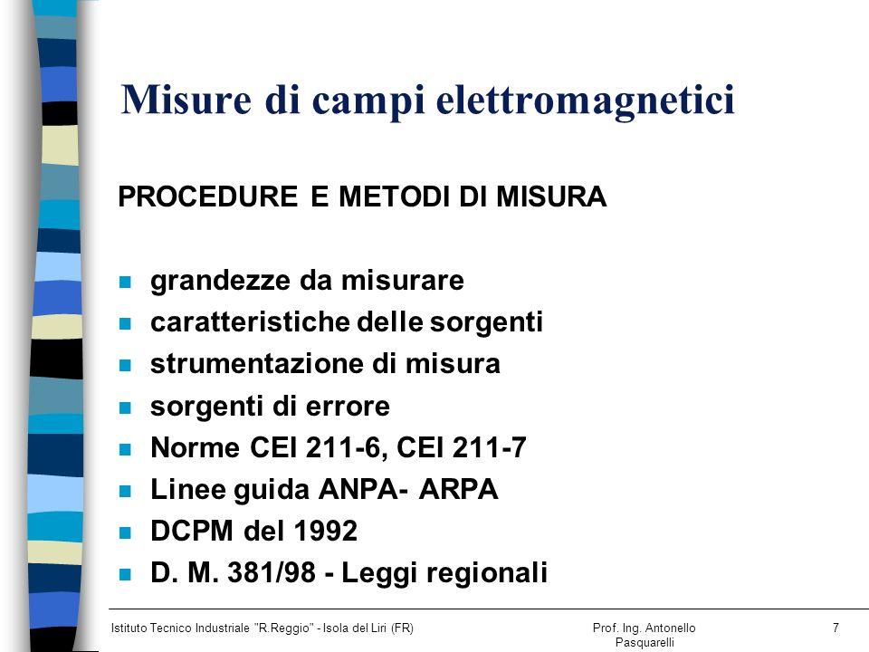 Misure di campi elettromagnetici