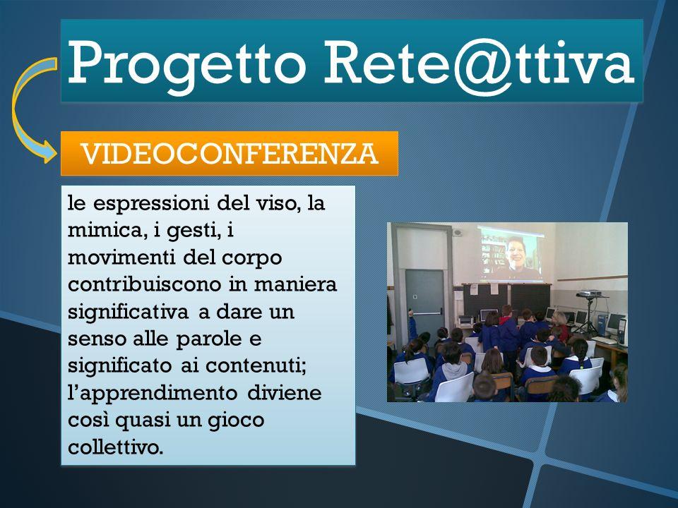 Progetto Rete@ttiva VIDEOCONFERENZA