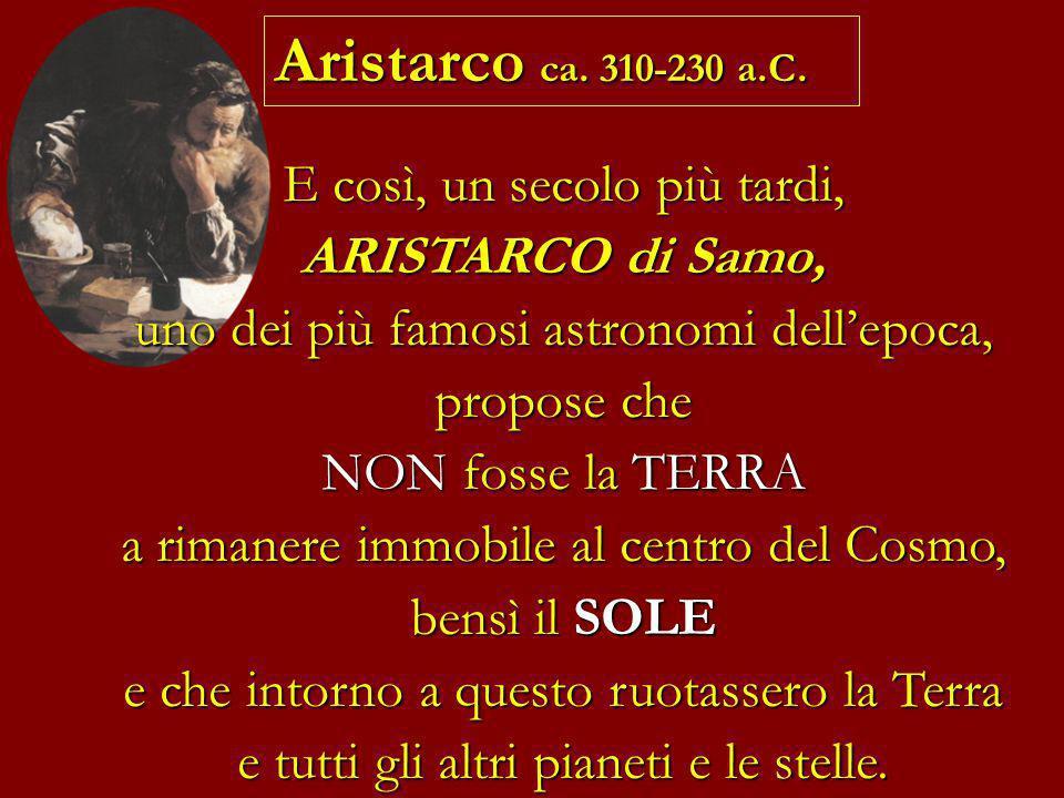 Aristarco ca. 310-230 a.C.