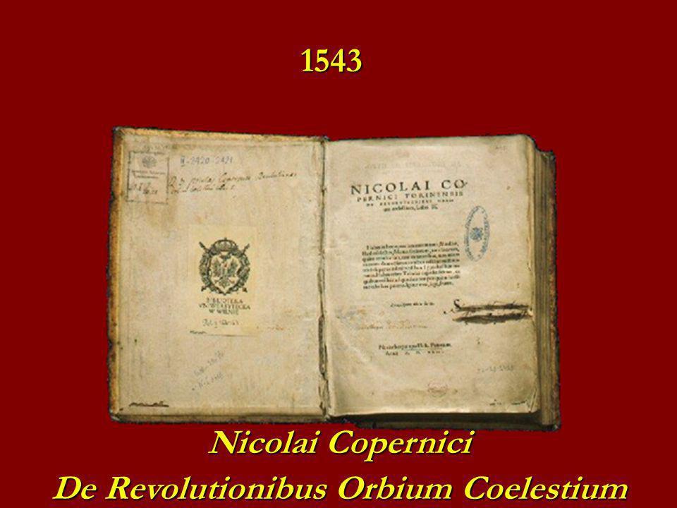 Nicolai Copernici De Revolutionibus Orbium Coelestium