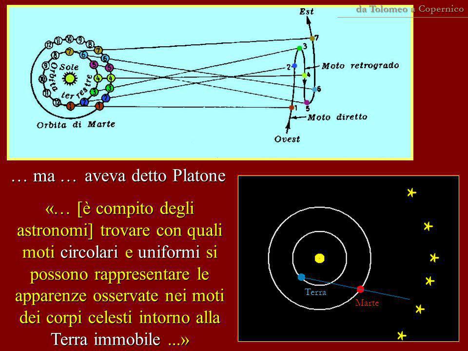 … ma … aveva detto Platone