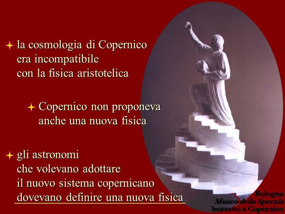 Copernico non proponeva anche una nuova fisica