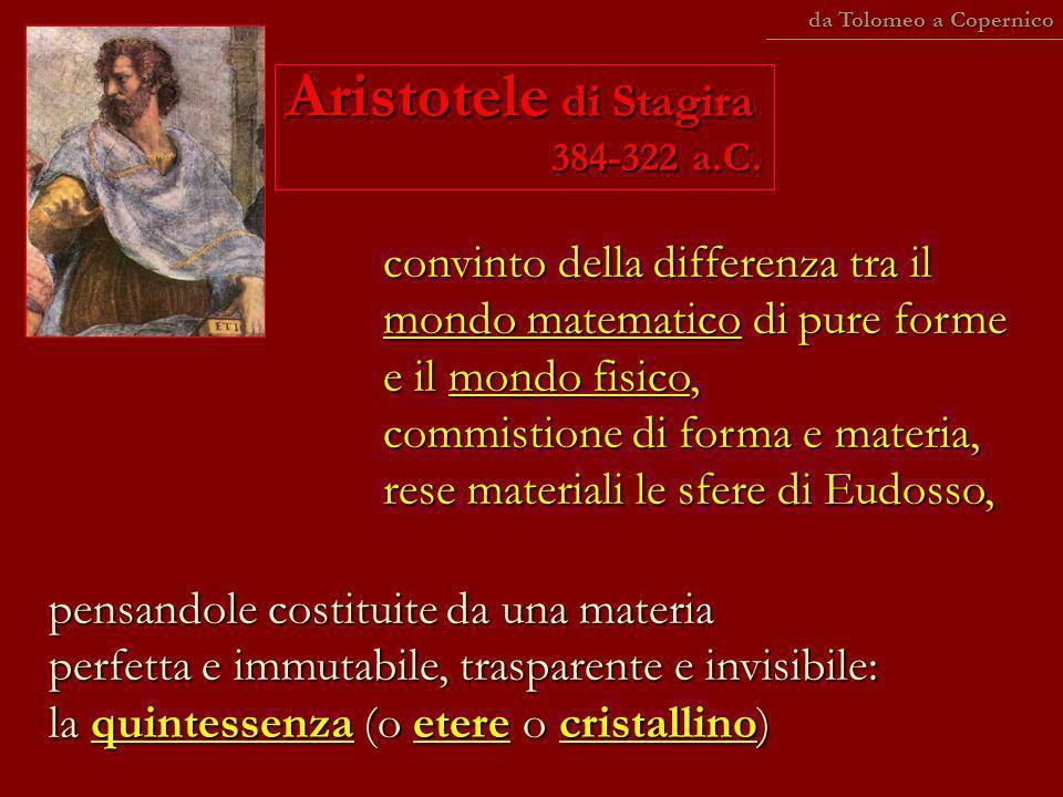 Aristotele di Stagira 384-322 a.C.