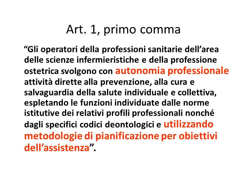 Art. 1, primo comma