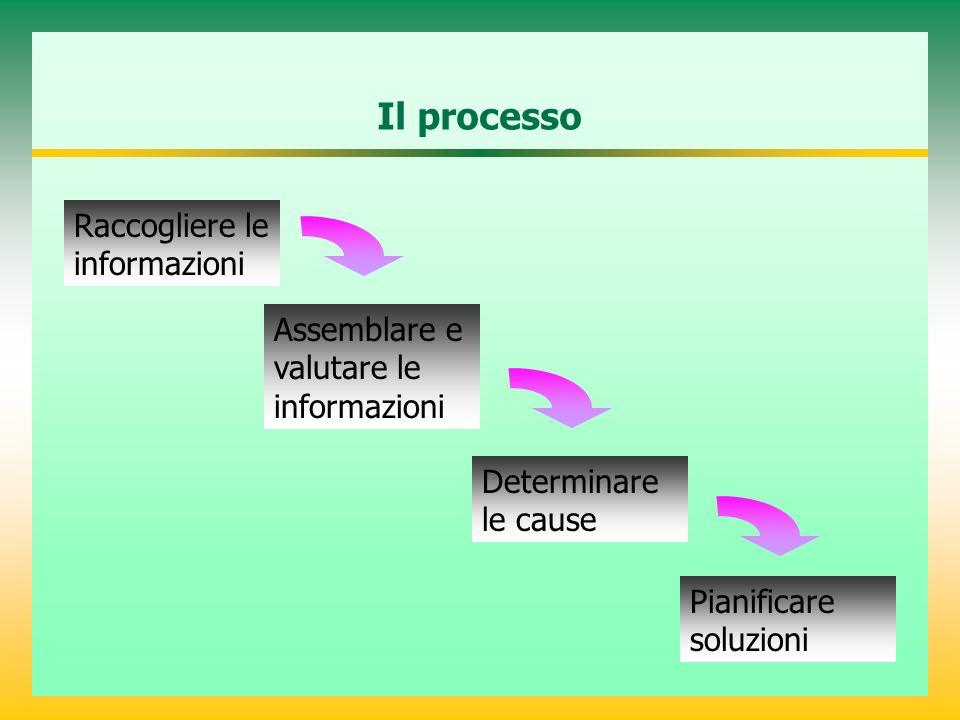 Il processo Raccogliere le informazioni