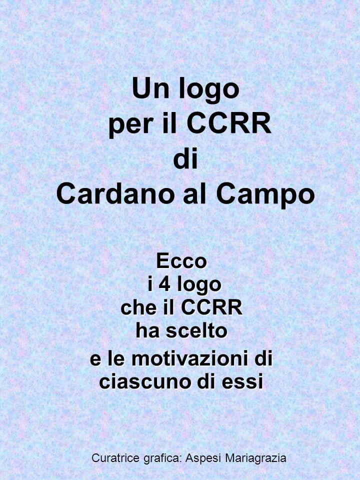 Un logo per il CCRR di Cardano al Campo