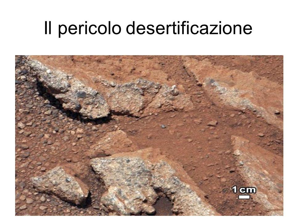 Il pericolo desertificazione