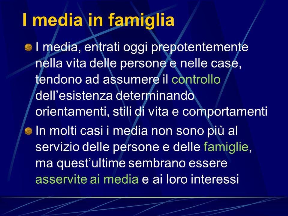 I media in famiglia