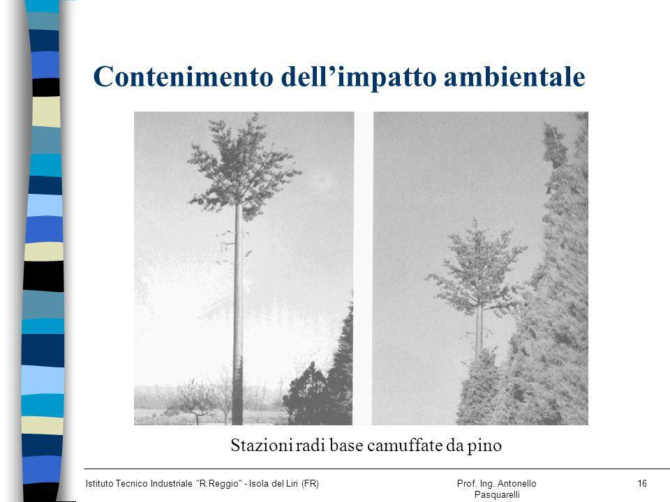 Contenimento dell'impatto ambientale