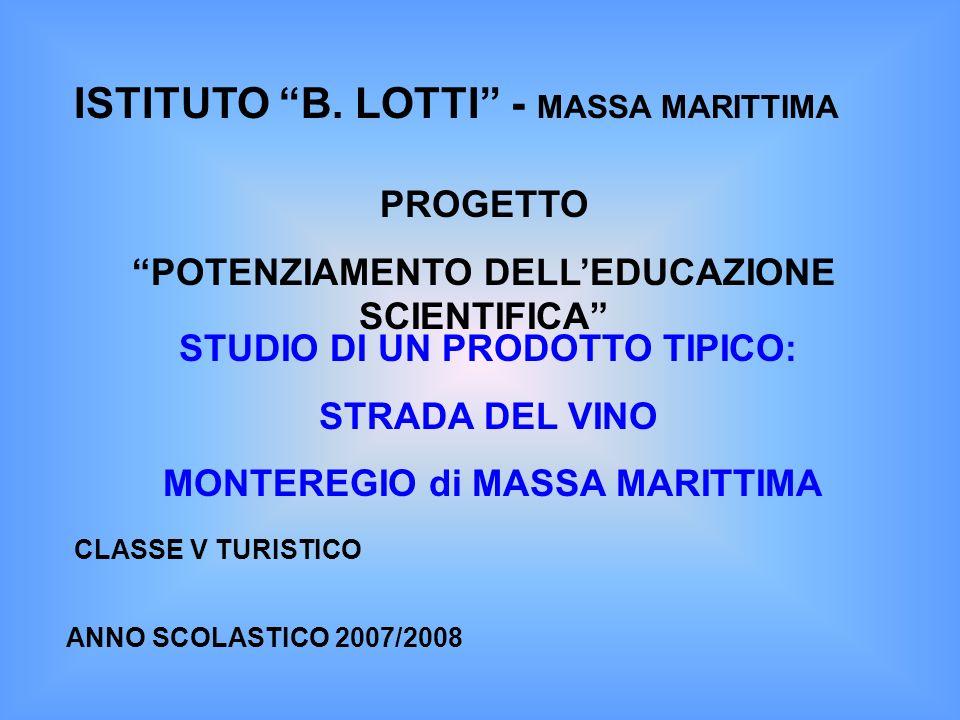 ISTITUTO B. LOTTI - MASSA MARITTIMA