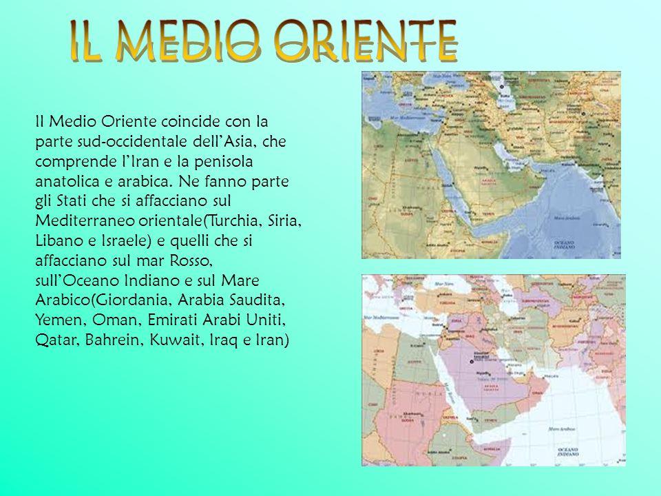 IL MEDIO ORIENTE